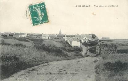 """/ CPA FRANCE 56 """"Ile de Houat, vue générale du Bourg"""""""