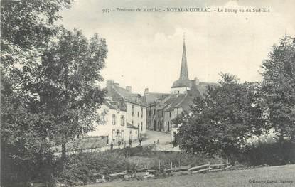 """/ CPA FRANCE 56 """"Noyal Muzillac, le bourg vu du Sud Est"""""""