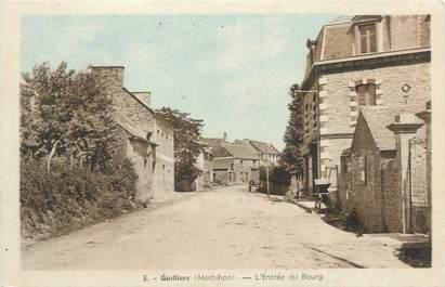 """/ CPA FRANCE 56 """"Guilliers, l'entrée du bourg"""""""