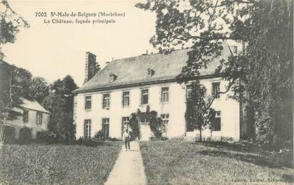 """/ CPA FRANCE 56 """"Saint Malo de Beignon, le château"""""""
