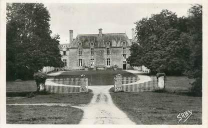 """/ CPSM FRANCE 56 """"Malensac, le château de la Grationnaye"""""""