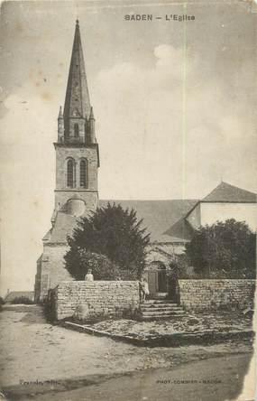 "/ CPA FRANCE 56 ""Baden, l'église"""