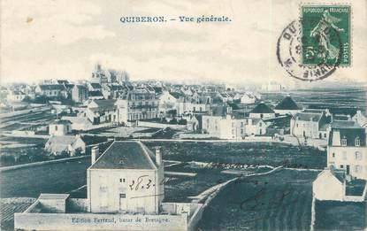"/ CPA FRANCE 56 ""Quiberon, vue générale"""