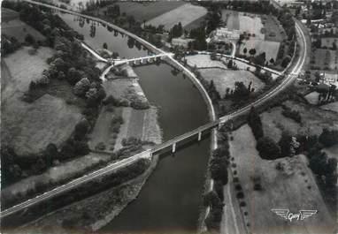"""/ CPSM FRANCE 56 """"Saint Adrien en Saint Barthélémy, les ponts sur le Blavet"""""""