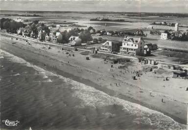 "/ CPSM FRANCE 56 ""Damgan, vue aérienne, la plage"""