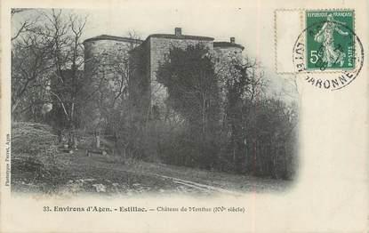 "/ CPA FRANCE 47 ""Estillac, château de Montluc"""