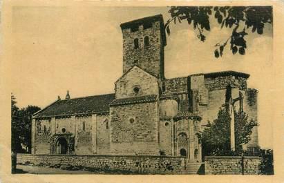 """/ CPA FRANCE 47 """"Monsempron, l'église, monument historique du XII siècle"""""""