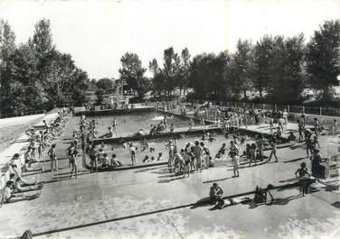 """/ CPSM FRANCE 47 """"Villeneuve sur Lot, la piscine"""""""