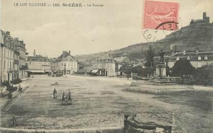 """/ CPA FRANCE 46 """"Saint Céré, le gravier"""""""