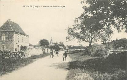 """/ CPA FRANCE 46 """"Vayrac, avenue de Puylaroque"""""""
