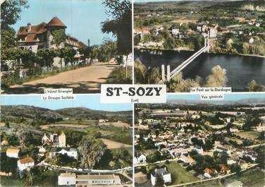 """/ CPSM FRANCE 46 """"Saint Sozy"""""""