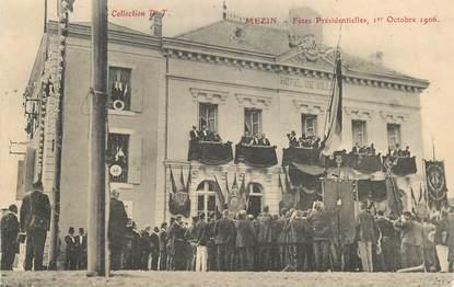 """CPA FRANCE 47 """"Mézin, fêtes présidentielles, 1906"""""""