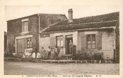 """CPA FRANCE 52 """"Coiffy le Haut, auberge du Lapin Blanc"""""""