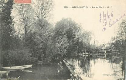 """CPA FRANCE 95 """"Saint Gratien, Lac du Nord"""""""