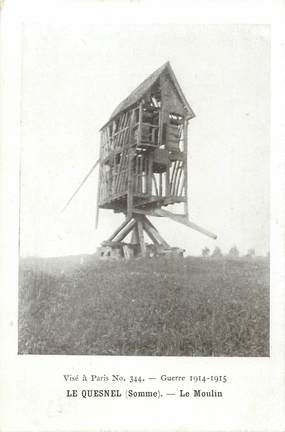 "CPA FRANCE 80 ""Le Quesnel, le moulin"""