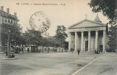 """CPA FRANCE 69 """"Lyon, Eglise Saint Pothin"""""""