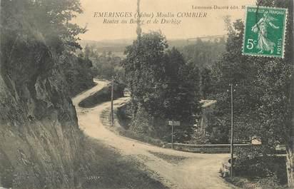 "CPA FRANCE 69 ""Emeringes, Moulin Combier"""