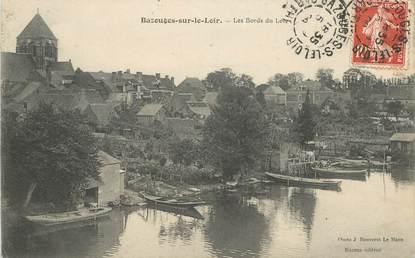 """CPA FRANCE 72 """"Bazouges sur le Loir"""""""