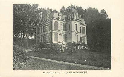 """CPA FRANCE 72 """"Luceau, la Françoisière"""""""
