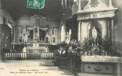 "CPA FRANCE 72 ""Luceau, Eglise"""