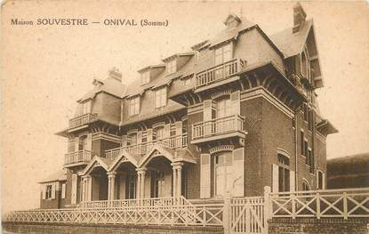 """CPA FRANCE 80 """"Ault Onival, Maison Souvestre"""""""