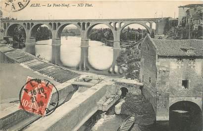 "CPA FRANCE 81 ""Albi, le Pont Neuf"""