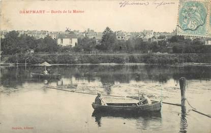 "CPA FRANCE 77 ""Dampmart, les bords de la Marne"""