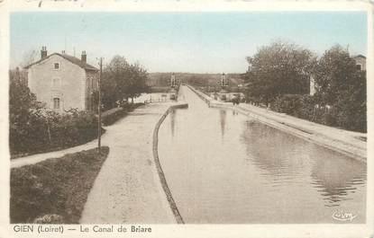 "CPA FRANCE 45 ""Gien, le canal de Briare"""
