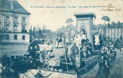"CPA FRANCE 44 ""Nantes, Fête de la Mi Carême, le char de Tout Ank Amon"""