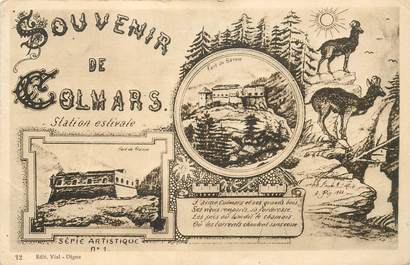 "CPA FRANCE 04 ""Souvenir de Colmars"""