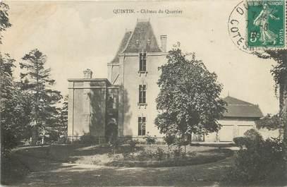 """CPA FRANCE 22 """"Quintin, Chateau du Quartier"""""""