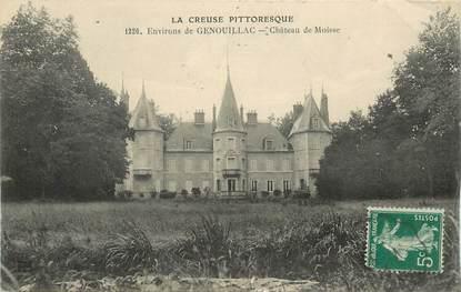 """CPA FRANCE 23 """"Env. de Genouillac, chateau de Moisse"""""""