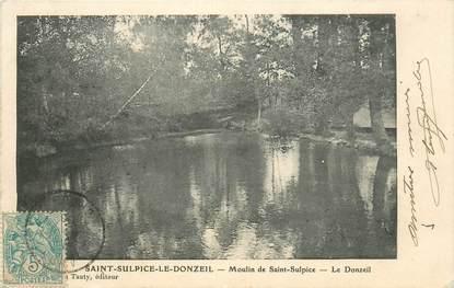 """CPA FRANCE 23 """"Saint Sulpice le Donzeil"""""""