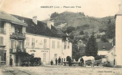 """/ CPA FRANCE 39 """"Orgelet, place aux vins"""""""