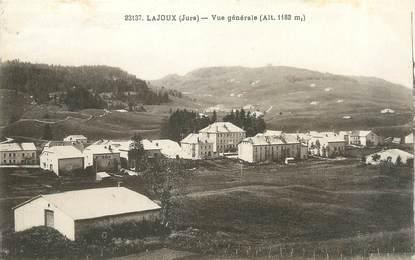 """/ CPA FRANCE 39 """"Lajoux, vue générale"""""""