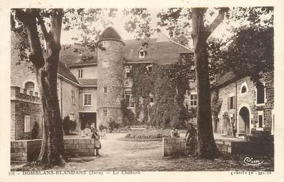 """/ CPA FRANCE 39 """"Domblans Blandans, le château"""""""