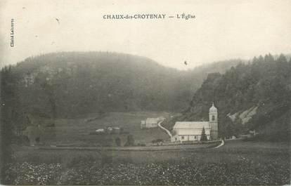 """/ CPA FRANCE 39 """"Chaux des Crotenay, l'église"""""""