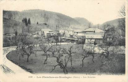 """/ CPA FRANCE 39 """"Les Planches en Montagne, les scieries"""""""
