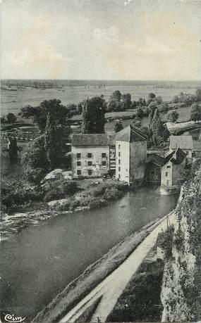 """/ CPSM FRANCE 39 """"Rochefort sur Nenon, le Doubs et les vieux moulins"""""""