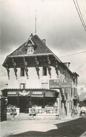 """/ CPSM FRANCE 39 """"Lons Le Saunier, hôtel du cheval rouge"""""""