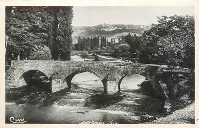 """/ CPSM FRANCE 39 """"Domblans, un pont sur la Seille"""""""