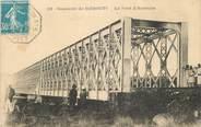 """Afrique CPA DJIBOUTI """"Le Pont d'Aouache"""" / CACHET AMBULANT MARITIME AU RECTO / PHILATÉLIE"""