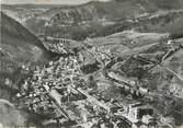 """39 Jura / CPSM FRANCE 39 """"Morez, vue aérienne, le centre de la ville et l'hôtel de ville"""""""