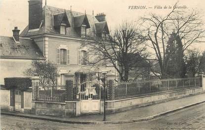 """CPA FRANCE 27 """"Vernon, villa de la Gravelle"""""""