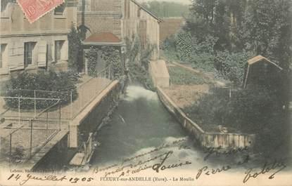 """CPA FRANCE 27 """"Fleury sur Andelle, le Moulin"""""""
