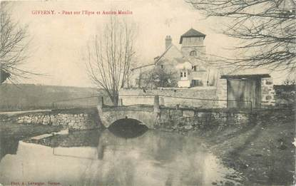 """CPA FRANCE 27 """"Giverny, Pont sur l'Epte"""""""