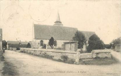 """CPA FRANCE 27 """"Canappeville, l'Eglise"""""""