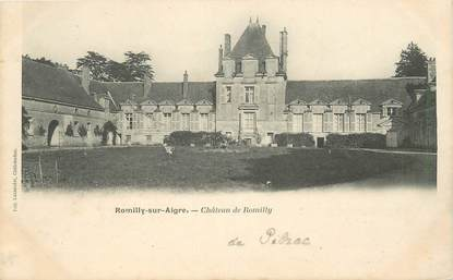 "CPA FRANCE 28 ""Romilly sur Aigre, Chateau"""