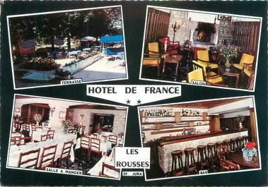 """/ CPSM FRANCE 39 """"Les Rousses, hôtel de France"""""""