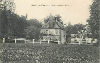 """CPA FRANCE 28 """"La Bazoche Gouet, Chateau de l'Etang Neuf"""""""